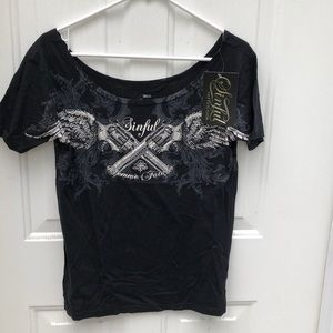 Sinful by Affliction T-shirt